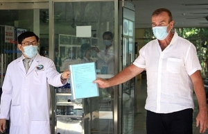 one more covid 19 patient discharged from hospital