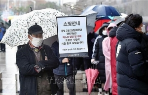vietnamese workers in rok receive free face masks