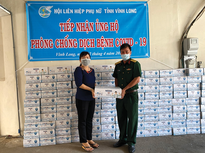 nestle vietnam supporting frontline heroes and healthier communities