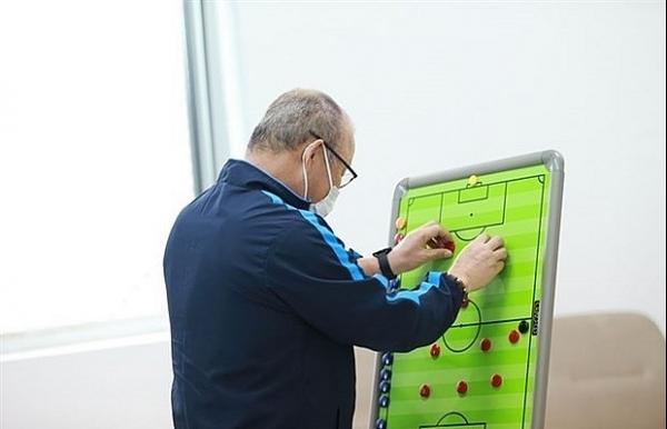 coach park sets new tactics for national team