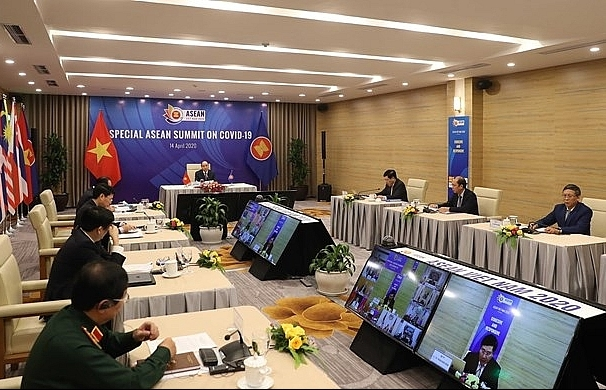 asean 2020 asean promotes coopeation in covid 19 response