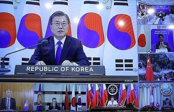 korean diplomat praises outcome of asean3 summit on covid 19