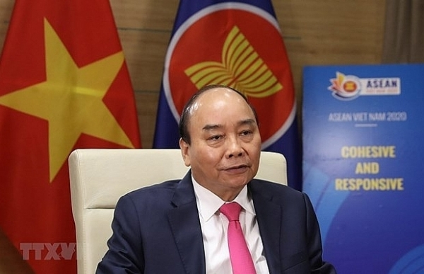 prime minister talks on outcomes of special asean asean3 summits on covid 19