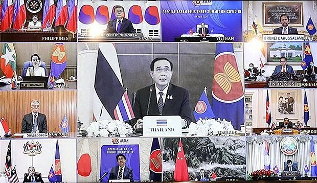 thai pm no country could fight against covid 19 threat alone