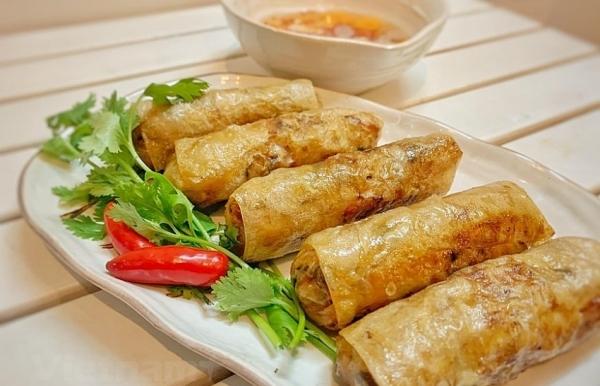 hanois fried spring roll