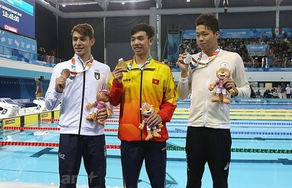 young talent swimming towards olympic dreams