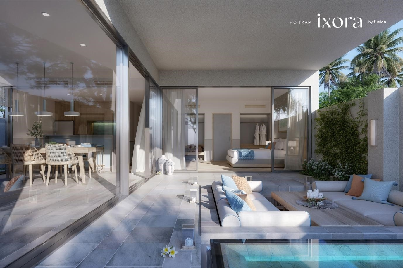 ixora ho tram by fusion unveils exclusive villa collection on the beach