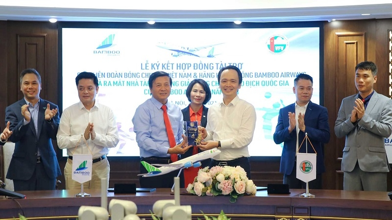 bamboo airways becomes main sponsor of national volleyball championship 2021