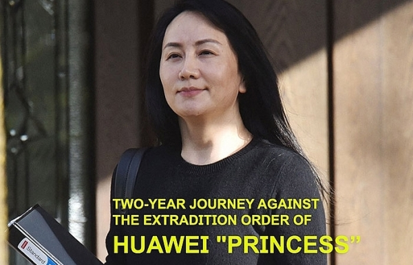 two year journey against the extradition order of huawei princess