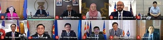 asean australia discuss cooperation orientations