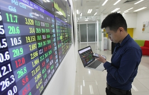 shares continue to drop on large cap stocks