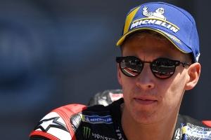 quartararo wins portuguese motogp with exhausted marquez seventh on comeback