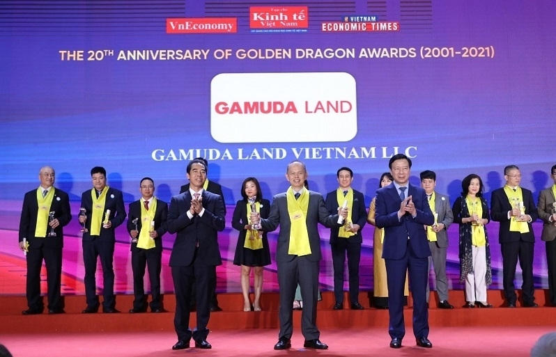 gamuda land vietnam honoured with golden dragon award