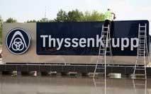 thyssenkrupp announces 10 bln euro divestment plan