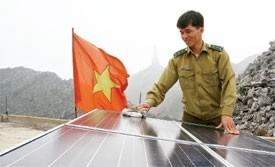 solar energy field hots up