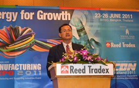 manufacturing expo 2011 set to open in thailand