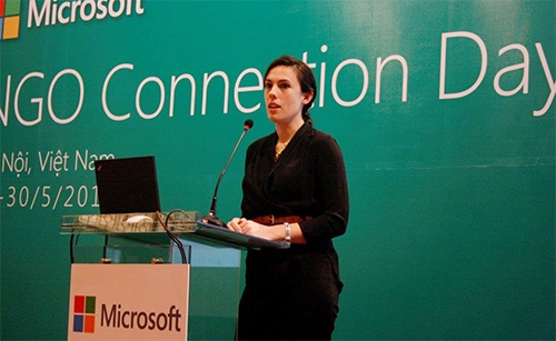 microsoft vietnam helps ngos improve it capability