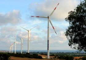 bac lieu wind mill generates power for national grid
