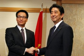Japanese PM expresses concern about tension in East Sea