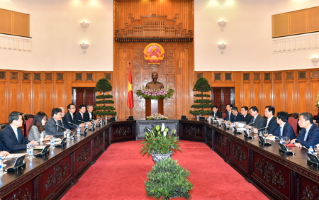PM meets with RoK Minister of Trade, Industry and Energy