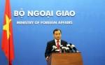 FM Spokesman affirms Hoang Sa as an inseparable territory of Vietnam