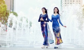 'Ao dai' featuring modern Ho Chi Minh City to be displayed in S. Korea