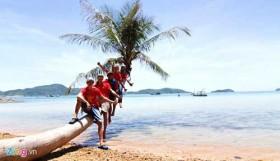 Summer paradise on Nam Du Islands