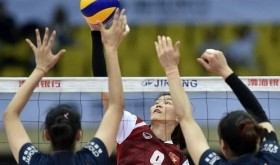 Vietnam eliminated from Asia's top four after loss at Asian women's volleyball tourney