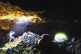 Exploring Chu B'Luk volcano in Central Highlands