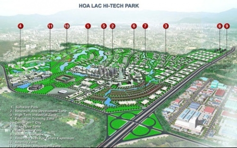 hoa lac hi tech park to offer special incentives