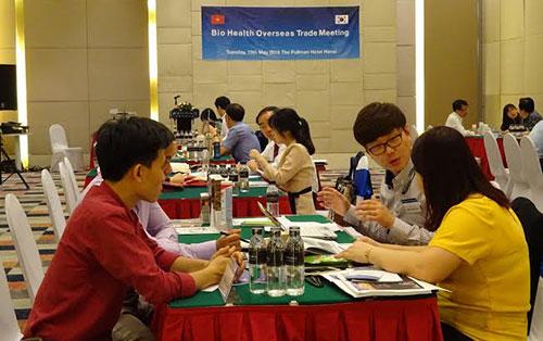 korean cosmetics and food enterprises look for vietnamese match
