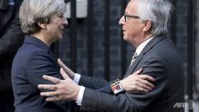 EU and Britain clash over Brexit bill