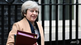 British PM boosted by local election results ahead of key vote