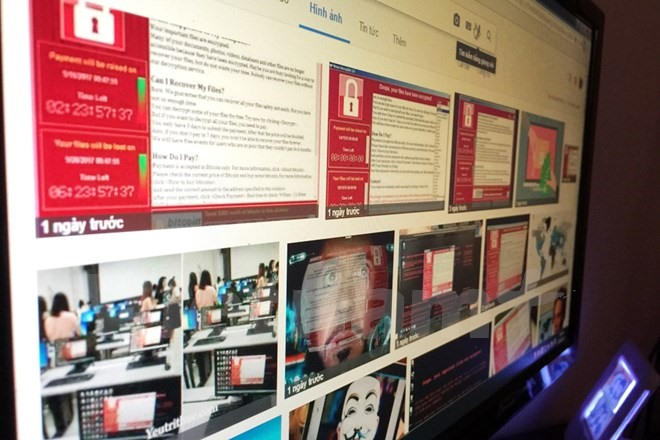 wannacry virus attacks 1900 computers in vn