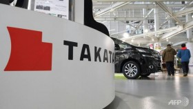 Automakers settle deadly Takata airbag case for US$553m