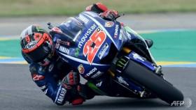 Vinales triumphs but heartbreak for Rossi
