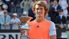 Zverev stuns Djokovic to win Rome Masters