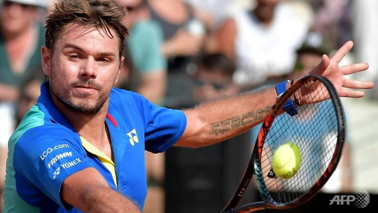 wawrinka in geneva final as nishikori slumps