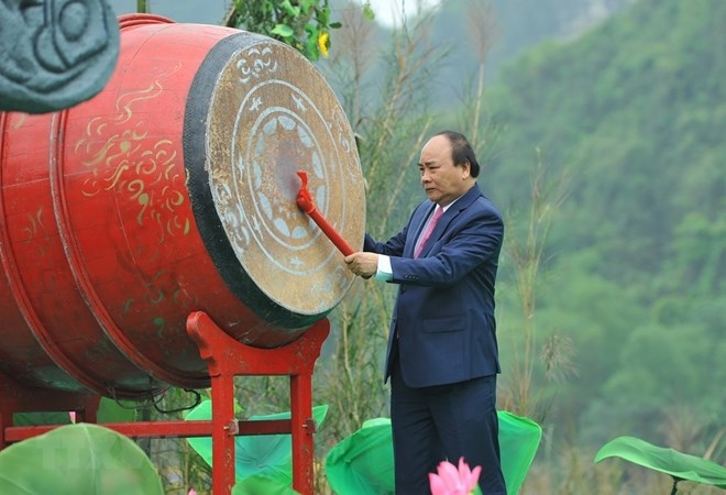 pm drums to kick off trang an festival 2018