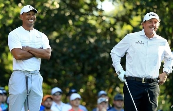 woods mickelson together again at players championship