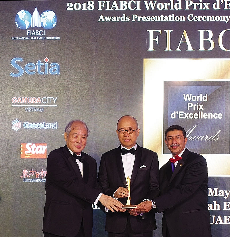 fiabci world prix dexcellence award honour gamuda lands green work