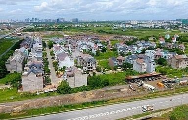 Land prices around HCM City jump