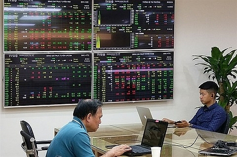 large caps support vn index