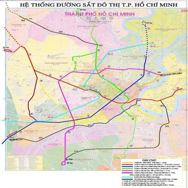pm okays proposal of hiring consulting units for hcm city metro line 5