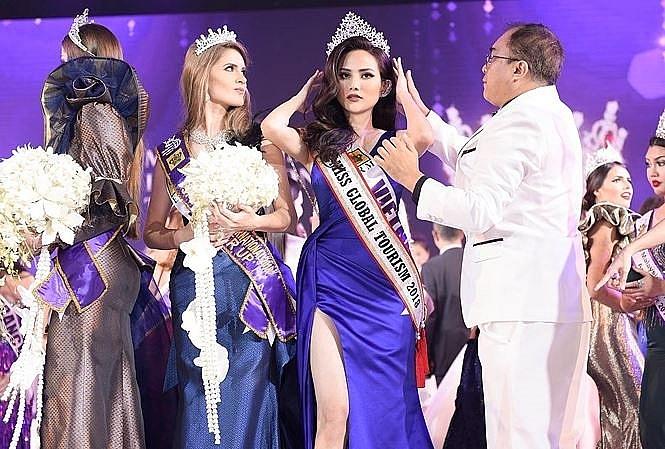 Vietnam among top 10 in international beauty pageant