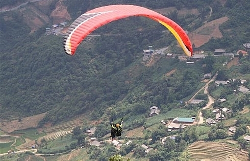 yen bai crystal cloud exhibition paragliding festival open