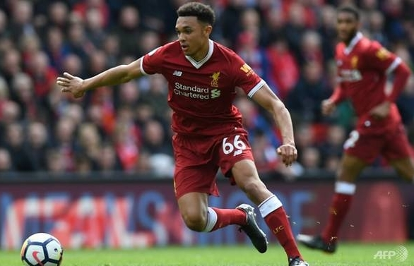 liverpool can exploit ronaldos weaknesses says alexander arnold