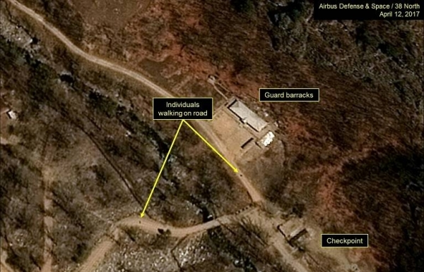 the nuclear test site north korea plans to destroy