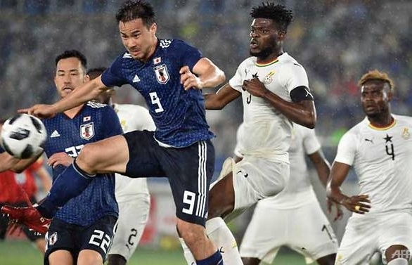 ghana spoil japans world cup wave off