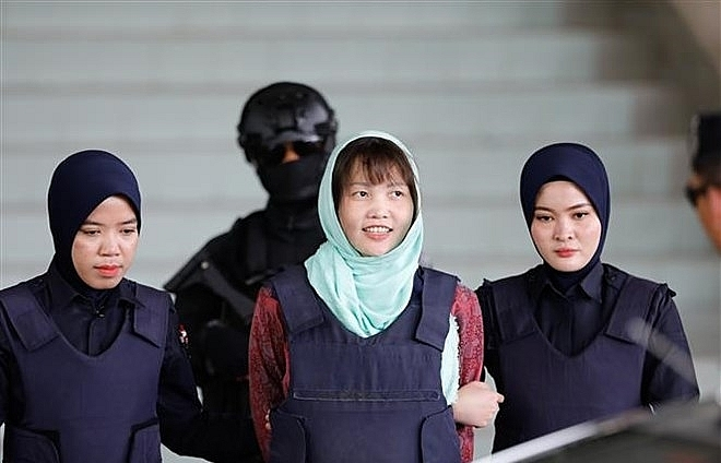 doan thi huong to return home after release